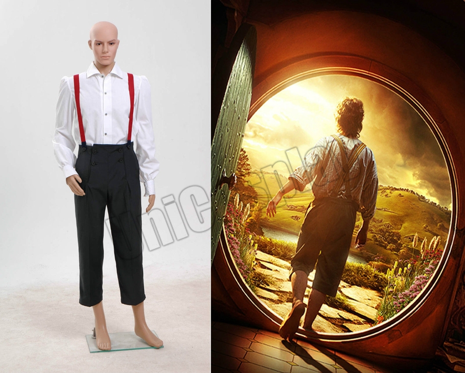 The Hobbit Lord of the Rings Bilbo Baggins Costume *Halloween Costume*Одежда и ак�е��уары<br><br><br>Aliexpress