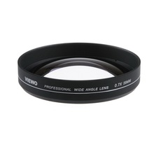 0.7X 58MM VIEWO Wide Angle Lens For Canon T2i / T3i / T4i / 550D / 600D / 650D 77mm Front(China (Mainland))