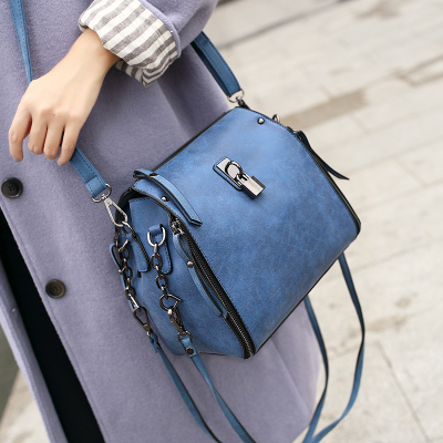 Spring bucket bag 2016 spring and summer three root womens handbag autumn and winter totes cross-body shoulder messenger bags<br><br>Aliexpress