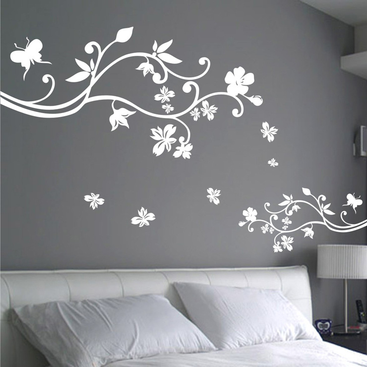 free shipping wholesale and retail flowers large wall free shipping brief the tree tv background wall large wall