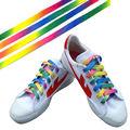 "1Pair 32"" Luminous Glow In Dark Shoelace Athletic Sport Boot Shoe Laces Strings"