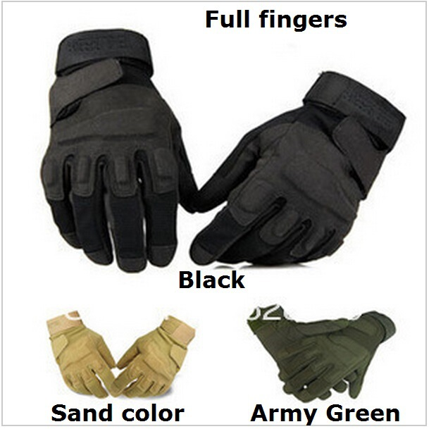 Pro Outdoor Sports Blackhawk Camping Military Tactical Swat Airsoft Hunting Motorcycle bike Gloves Armed Mittens - Rillpac Store store