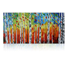 IARTS Brand Modern Landscape Painting Wall Art Stretchered R2H For Living Room Home Decor(China (Mainland))