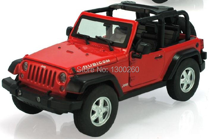 Models car JEEP Jeep Wrangler 1:24 alloy models Q7 model toys(China (Mainland))
