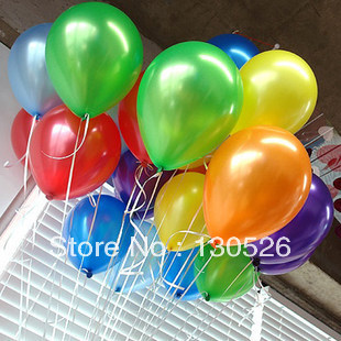 Wholesale 100pc/lot 10' Inch1.5g Helium Latex Balloons Party Wedding Birthday Event Decoration decorative Balloon Free Shipping(China (Mainland))