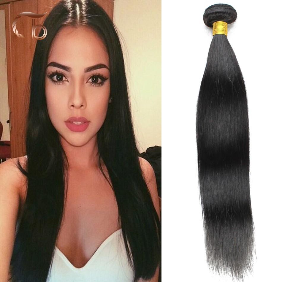 6A 2pcs Brazilian Straight Hair 6A Unprocessed Brazilian Virgin Hair 100% Human Hair No Sheeding Trendy Beauty Hair Products(China (Mainland))
