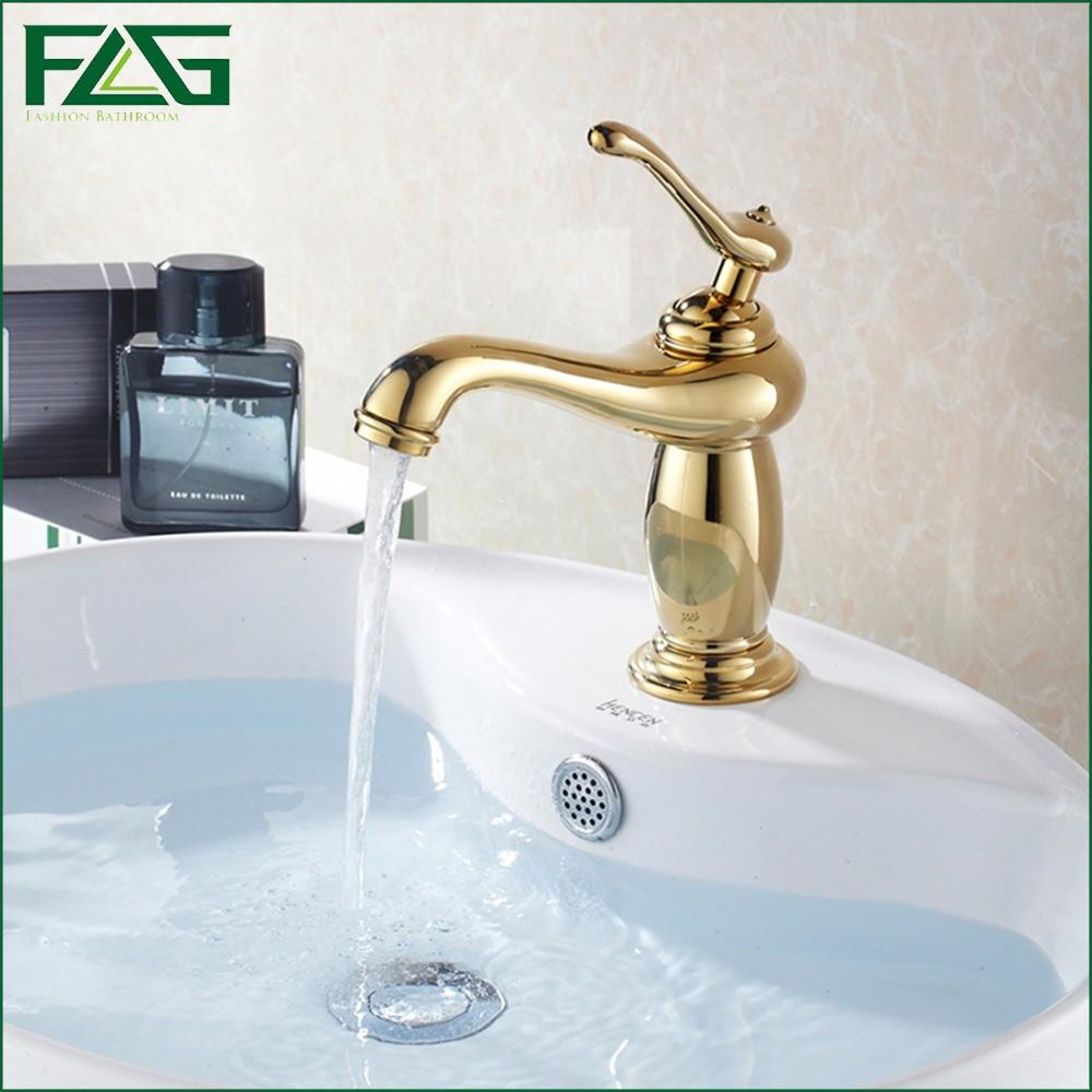 FLG Best Promotion Bath Mat Golden Classic Bathroom Faucet Cold&Hot Plumbing Materials Robinet Lavabo Basin Faucet Bathroom M089(China (Mainland))