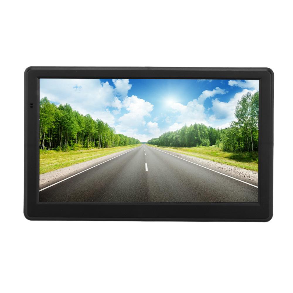 America Map 7 Inch HD Touch Screen Portable Car GPS Navigation 128MB RAM 4GB ROM Car Navigator Multi-langage Car GPS(China (Mainland))