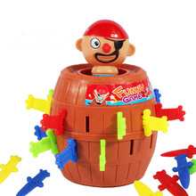 Running man pirate party toys barrel uncle sword game pirates barrels pirate crisis barrels Novel and whimsy toy(China (Mainland))