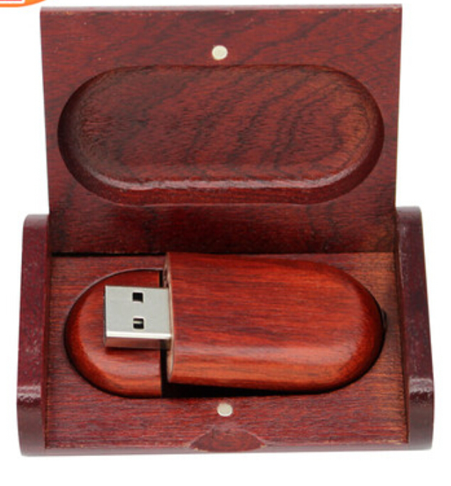 100% Real 4GB 10pcs / lot Wooden pen drive Oval USB flash drive memory Stick pendrive +Wooden Package Free shipping Print logo(China (Mainland))