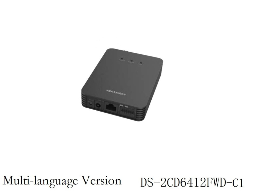 DS-2CD6412FWD-C1 Multi-language Version 1.3MP Single Channel without Lens Pinhole Concealed mini IP Camera  Support SD ONVIF<br><br>Aliexpress