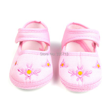 1Pair Cotton Baby Shoes Girls And Boys Shoes Kids First Walkers Solid Summer Sapato Infantil Crib