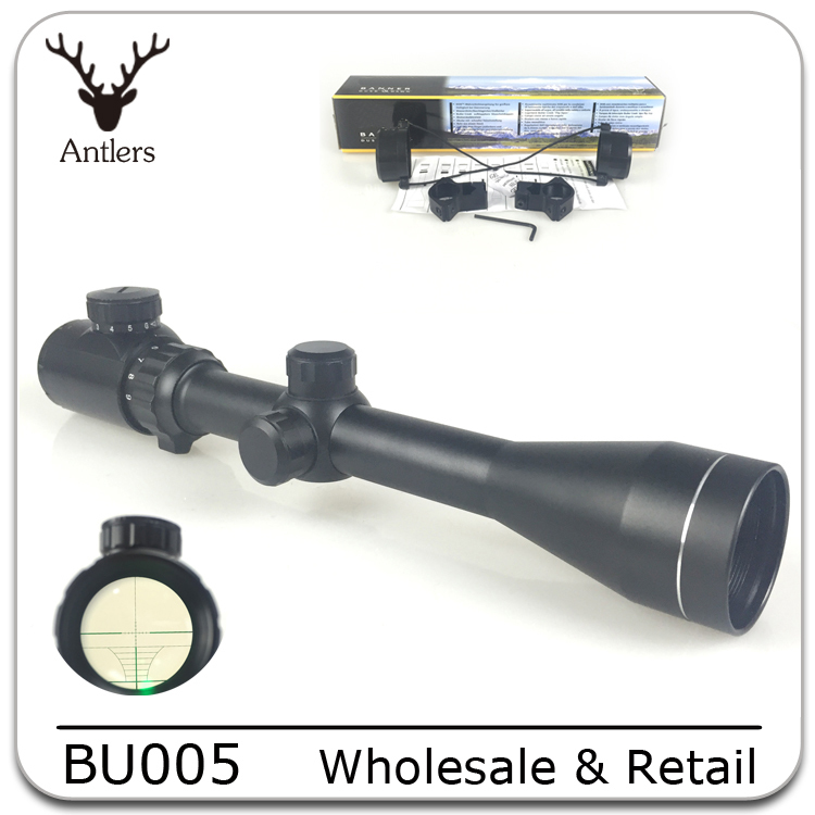High Quality shotguns Airsoft 3-9X40EG tactical Night Vision hunting Optic sight sniper rifle Riflescope Red Green Dot Scope(China (Mainland))
