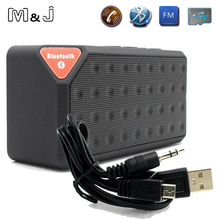 Buy M&J Mini Bluetooth Speaker X3 TF USB FM Radio Wireless Portable Music Sound Box Subwoofer Loudspeakers Mic Phone PC for $6.99 in AliExpress store