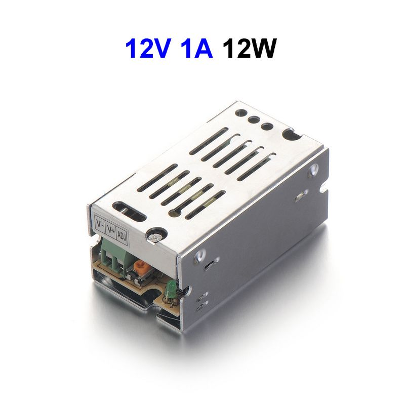 ( 20 pcs/lot ) DC12V 1A 12W Switching Power Supply Adapter Driver Transformer For 5050 5730 5630 3528 LED Rigid Strip Light(China (Mainland))