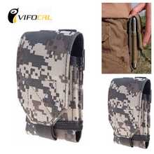 New Army Camo Bag Mobile Phone Hook Loop Belt Pouch Sleeve Holster Cover Case middle size For iphone SE 5SE