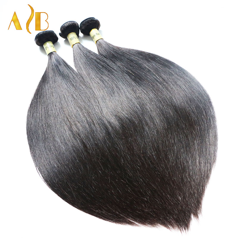 Remy Brazilian Human Hair 1pcs 8-30inch Brazilian Virgin Hair Straight Queen Hair Products 7A Unprocessed Brazilian Virgin Hair<br><br>Aliexpress