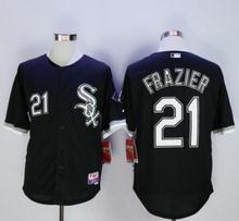 2016 Chicagos #21 Todd Frazier baseball jersey Elite black shirt #29 Jeff Samardzija #49 Chris Sale color white stitched jersey(China (Mainland))