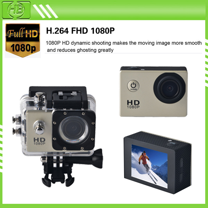 2 inch A9LWaterproof Sports Camera 1080P Full HD 12MP Wireless Diving Mini DV Cam Camcorder Action Video Recorder camara go pro(China (Mainland))