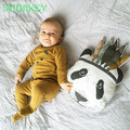 Fashion Baby Stuffed Toys cashiion pad Pillow Kids Room Bed Sofa Decorative Indian Panda animal shape