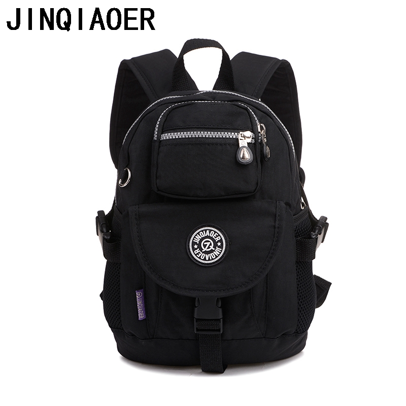 JINQIAOER Waterproof Nylon Schoolbags Ladies Backpacks Student School Bag Laptop Backpack For Teenage Shoulder Mochilas Ruchsack(China (Mainland))