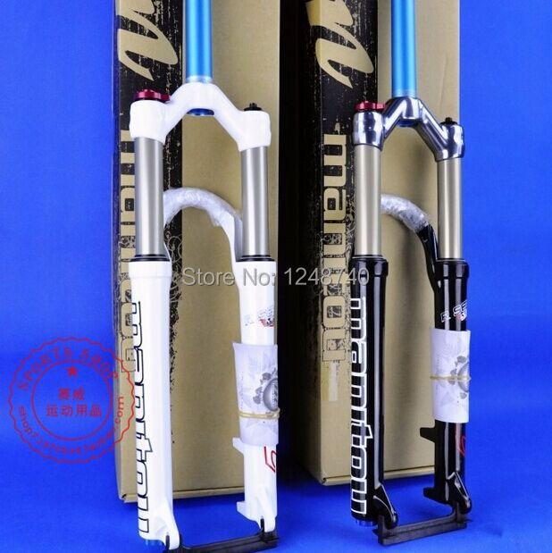 2014 Manitou R7 Pro MTB Bike Fork shoulder/remote wire control 26er White Black,rock shox rockshox MTB FORK(China (Mainland))