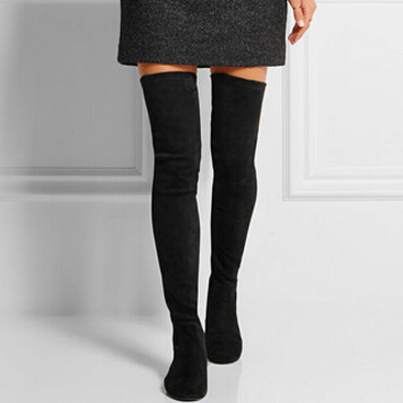 Thigh High Stretch Boots - Cr Boot