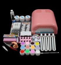 UC-92 Hot Sale nails gel polish 36w Curing UV Dryer Lamp Nail Art Manicure Tools Kit  Beauty Nails nail art tools free shipping(China (Mainland))