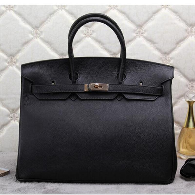 Genuine Leather Bags Handbags Women Famous Brand Big Shoulder Female Luxury Bag Designer Fashion Ladies Tote - Love Vinson international trade company store