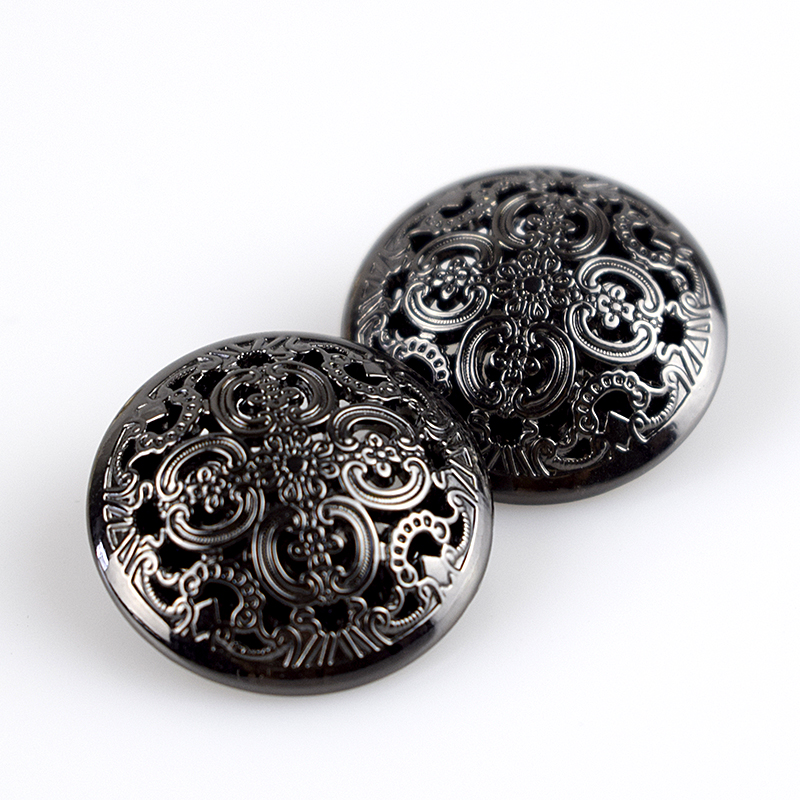 2016 New Scrapbooking Accessories 10pcs 15mm 20mm 25mm High Quality Button Skeleton Metal Coat Buttons Britishsuit Jacket Clasp(China (Mainland))
