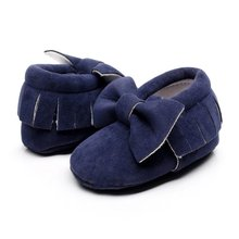 Baby Lace-up Pu Leather Baby Moccasins Shoes Infant Spring/Autumn Suede Boots First Walkers Newborn Baby Shoes(China (Mainland))
