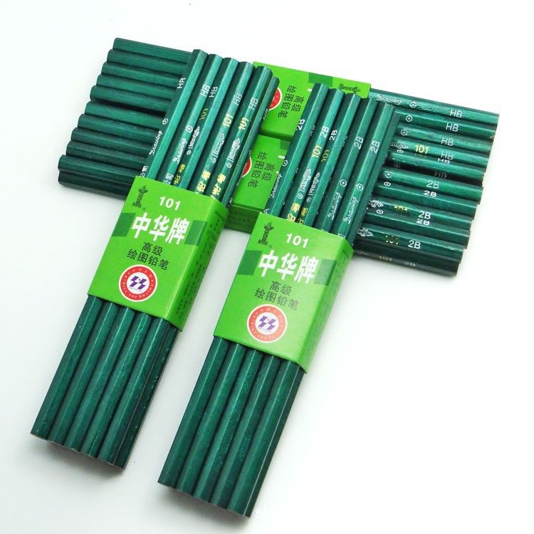 5PCS/lot Hot Sale HB 2B Standard Pencils For School Classical Wooden Pencil High Quality Office Supplies Pencil