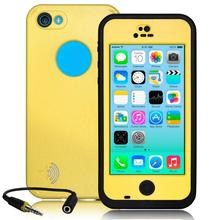 For Apple iPhone 5C Case Waterproof Shockproof Dirt Snowproof Durable Smart Phone Cases For iPhone 5C Stand Cover(China (Mainland))