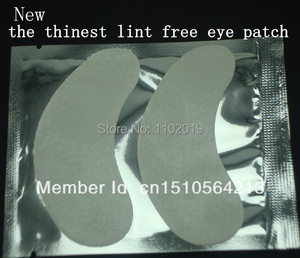 under eye pads the thinest lint free Eye Gel patches for eyelash extension from south korea 50pairs free shipping(China (Mainland))