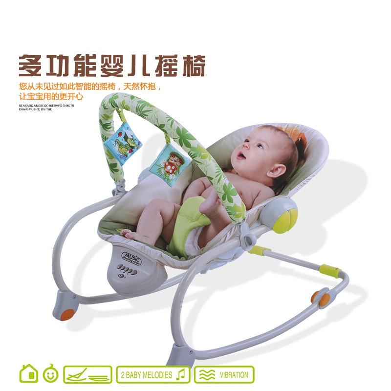 Автоматическая качалка для ребенка 2