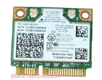New WiFi Bluetooth 4.0 Wireless Card for Intel Dual Band Wireless-AC 7260 7260HMW 867Mbps FRU:04X6010 for lenovo E440 E540 S440(China (Mainland))
