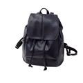 GUBINTU 2017 New Fashion Leather Drawstring Satchel Shoulder Backpack Newest Vintage Rucksack Soft PU Leather Bags