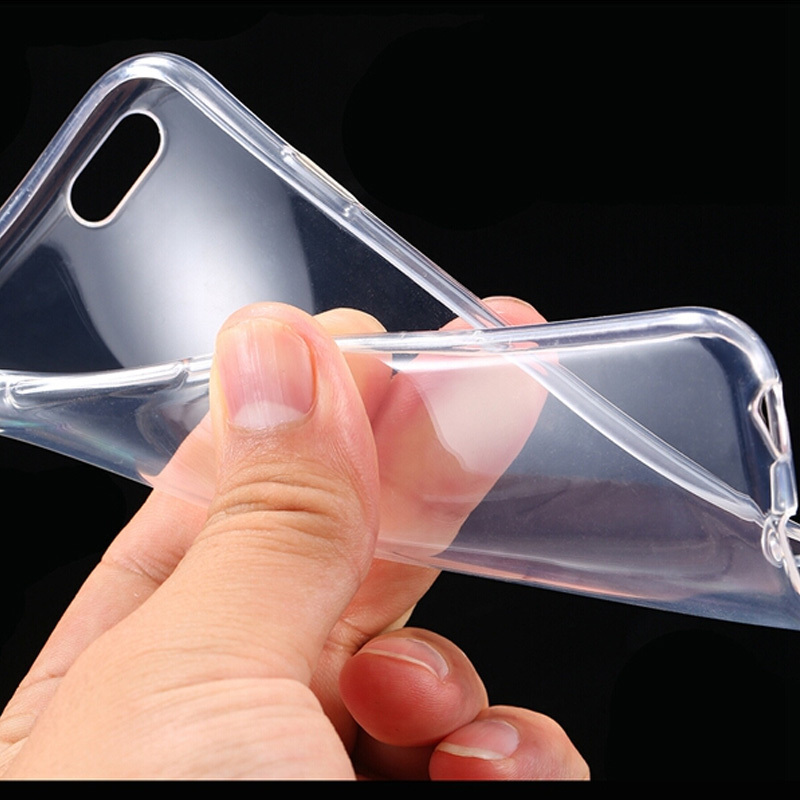 I6 Super Flexible Clear TPU Case For Iphone 6 4.7inch Slim Crystal Back Protect Skin Rubber Phone Cover Silicone Gel Case MSZ001(China (Mainland))