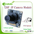 1MP 720P HD CCTV IP Network Cameras modules boards DIY Video Surveillance System With IRcut filter