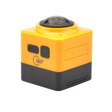 New Arrival Cube 360 Sports Video Camera WIFI H.264 360 Degrees Panorama Camera  360×190 Large Panoramic Shot  Sports Camera
