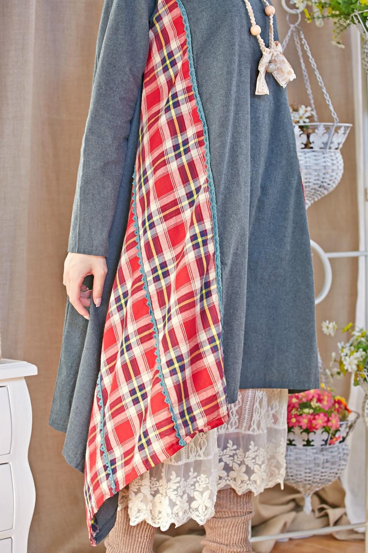 jurken patchwork harajuku vestido de festa casamento embroidery hippie boho vintage plaid roupa feminina mujer sequin fall dress