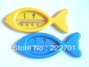 Free shipping mixed order over 10usd Baby bath water thermometer water meter twiddlefish thermometer
