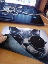 2015 Hot Cat Picture Anti-Slip Laptop PC Mice Pad Mat Mousepad For Optical Laser Mouse Promotion!(China (Mainland))