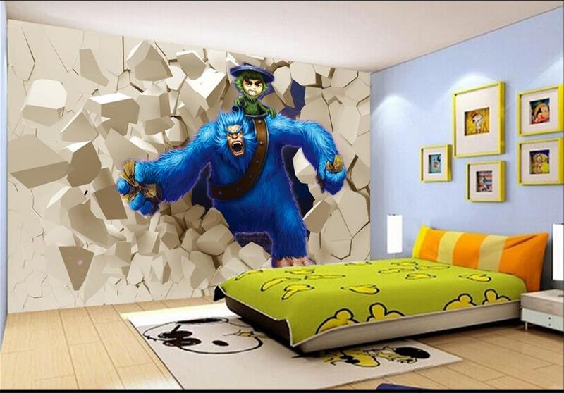 Compare prices on snowman wallpaper online shopping buy for Custom mural cost