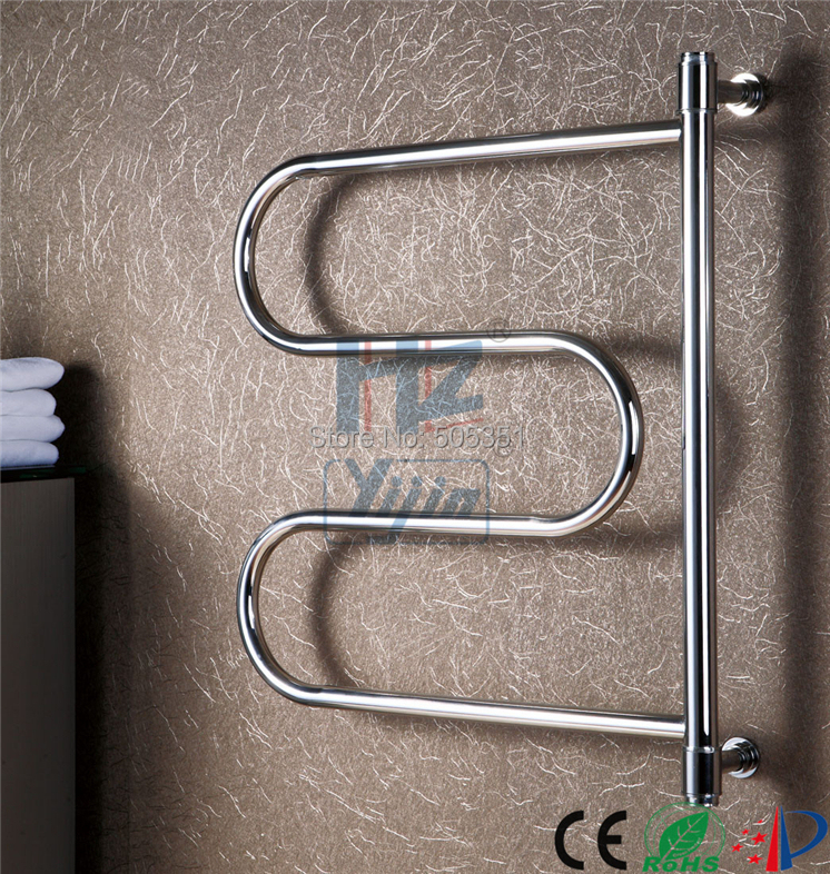 Swing Style Electric Towel Warmer Wall Mounted Heated Towel Rail Heated Towel
