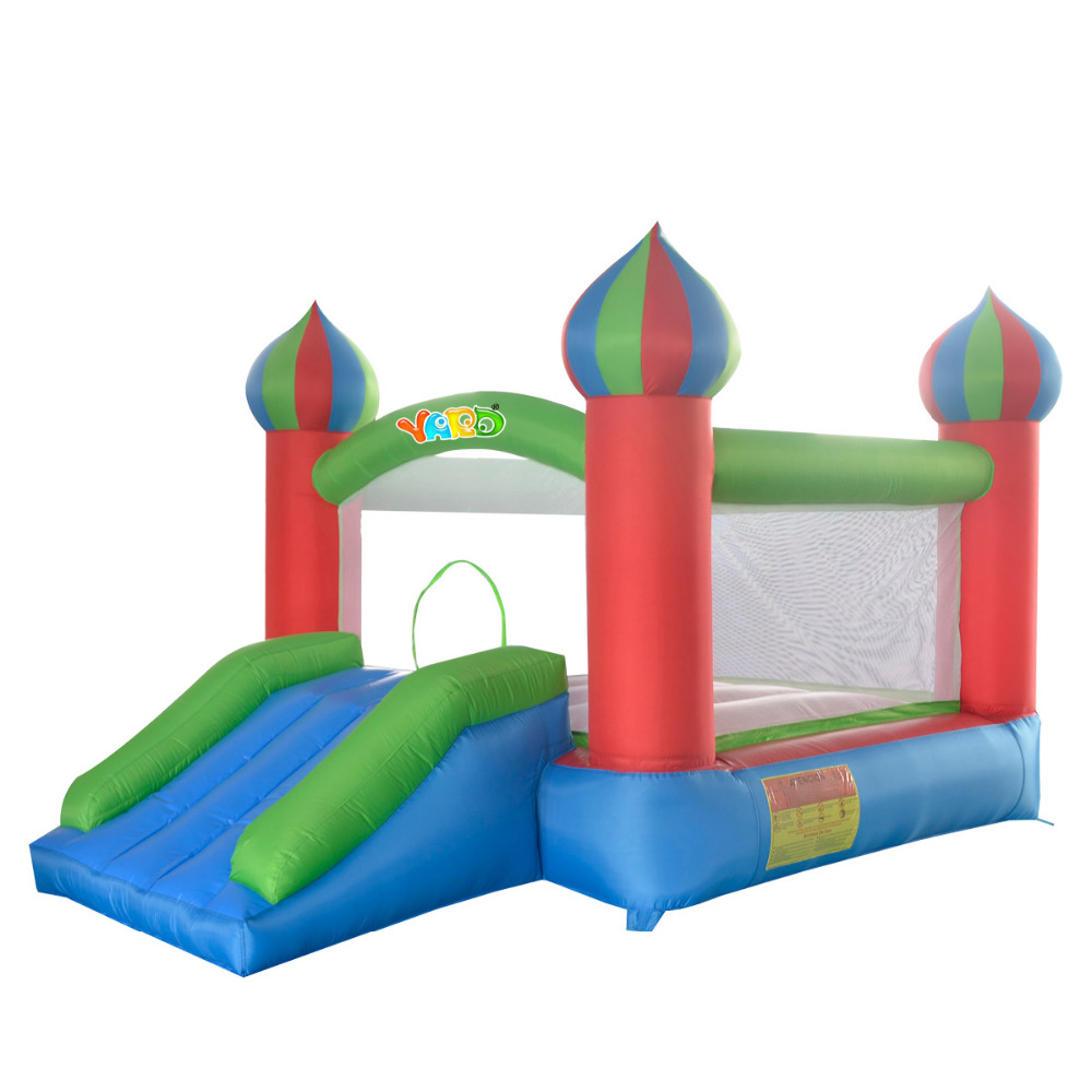 YARD Free Shipping in Asian Pacific Mini Jumper Inflatable Bouncer Bouncy Castle with Slide for Kids(China (Mainland))