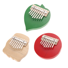BS#S Thumb Piano Finger Piano 8 Keys Tunable Leaf Foot and Round Design Wood Musical Instruments(China (Mainland))