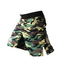 Bermudas MMA kick boxing muay thai shorts mma troncos homens baratos calções de fitness calças desgaste luta grappling mma sanda(China)