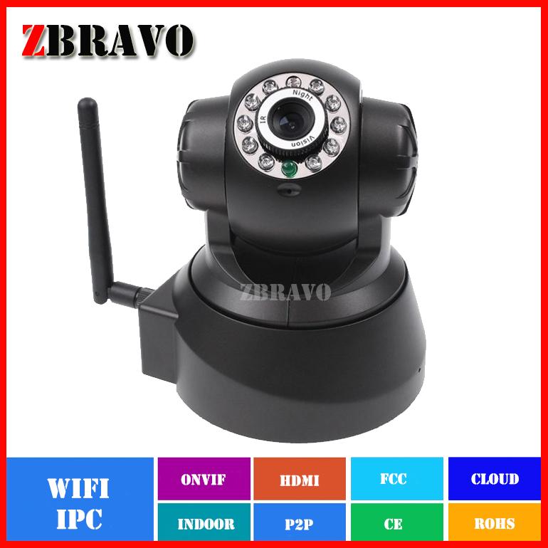 IP Camera indoor Wireless WiFi Security CCTV Dual Audio 1/4 CMOS 0.3megapixel Baby Monitor Free Phone APP PTZ Camera Pan/Tilt(China (Mainland))