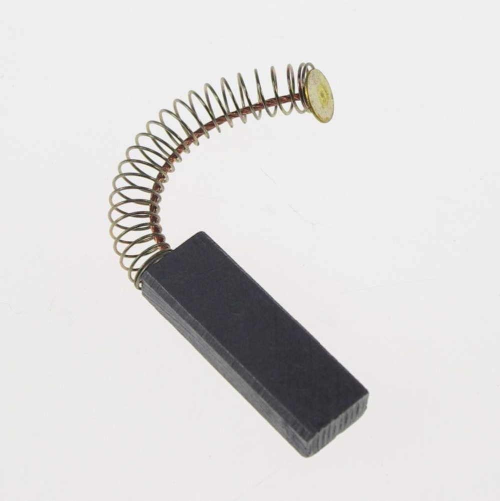 6 x 10 x 30mm Aspirator motor Dust Collector Springs Attached Carbon Brush(China (Mainland))